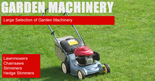 Garden Machinery Banner
