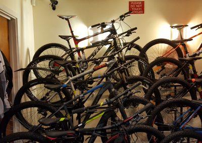 Bike stand - wall