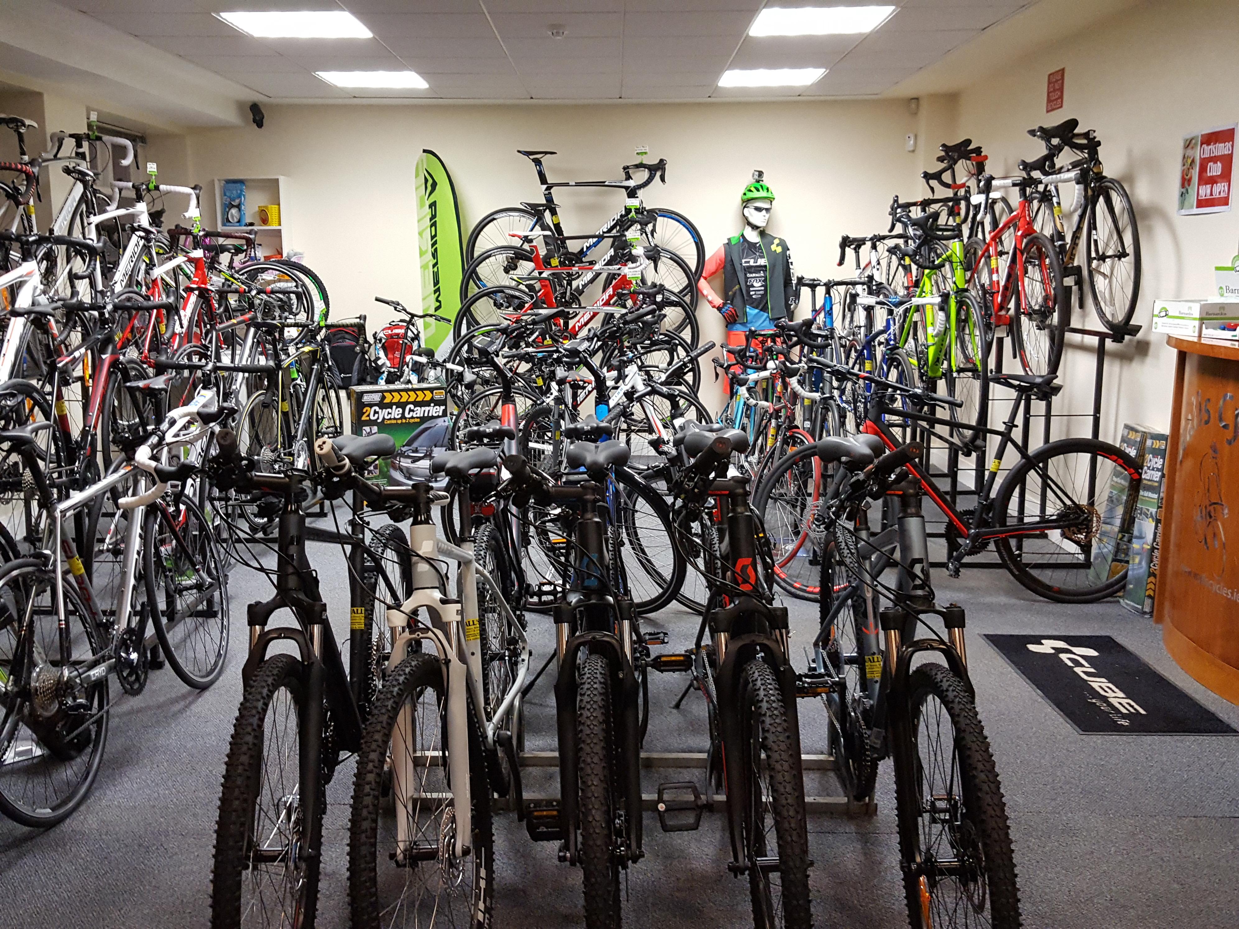 Center bikes all